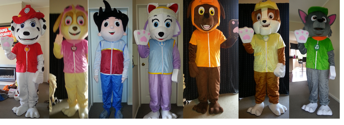 We have mascots available for hire. Great for birthday parties galas and special events.  sc 1 st  Costume Hire Porirua Wellington & Mascot Hire - A - InDisguise Costume Hire